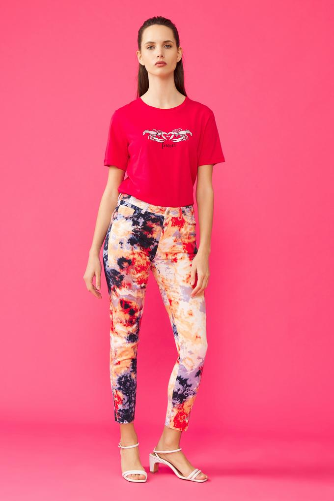 Kırmızı Batik Pantolon
