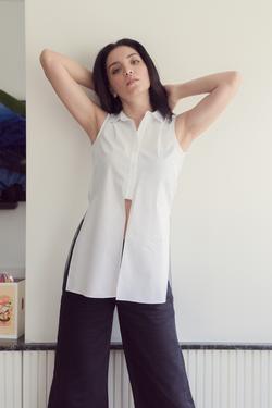 Önden Bağlamalı Gömlek