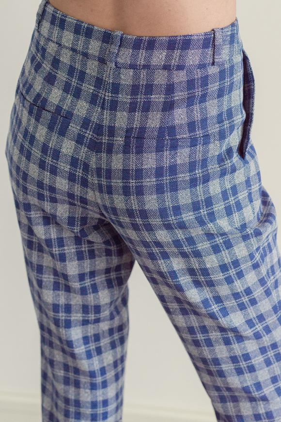 Lacivert Cepli Pantolon