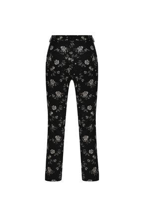 Siyah Desenli Pantolon