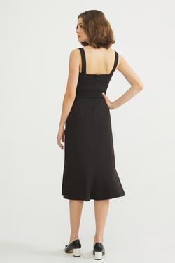 Altı Volanlı Elbise