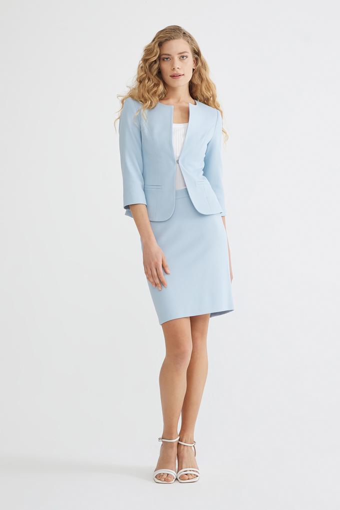 Mavi Agraflı  Ceket