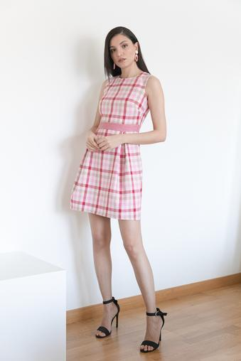 Pembe Pilikaşe Elbise