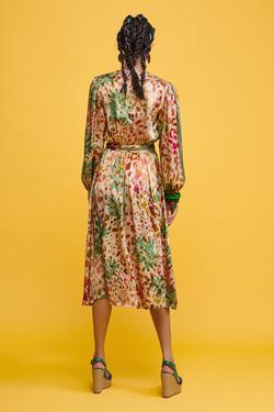 Dantel Şeritli Elbise