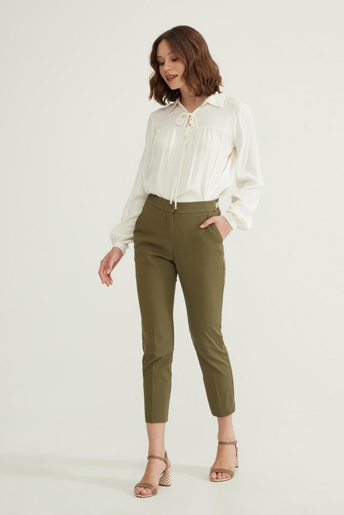 Yeşil Lastikli Pantolon