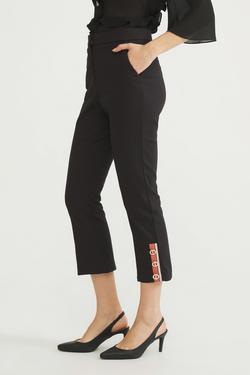 Paçası Detaylı Pantolon