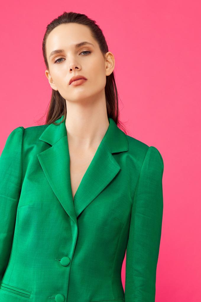 Yeşil Erkek Yaka Ceket
