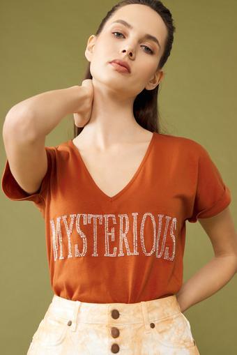 Tarcin V Yaka T-Shirt
