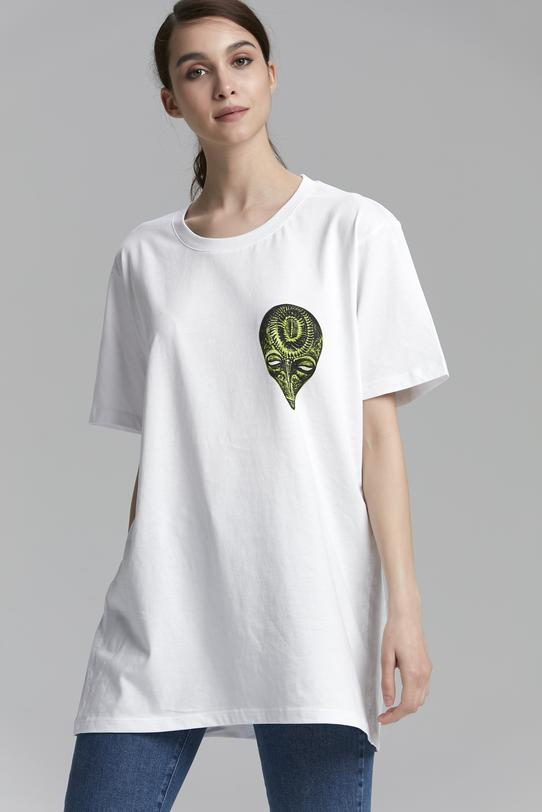 Yeşil Printed T-Shirt