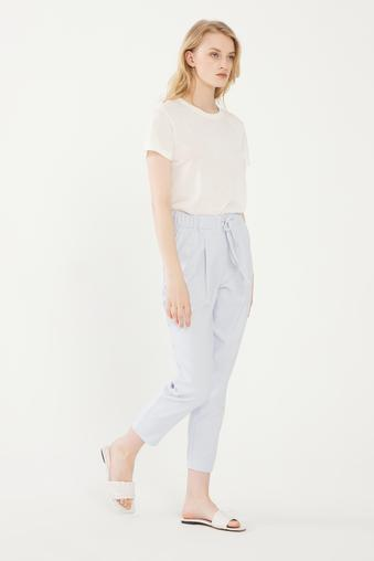 Mavi Beli Lastikli Pantolon