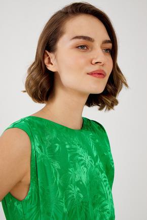 Yeşil Arkası Bağcıklı Tulum