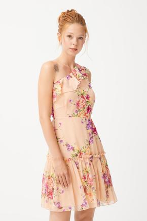 Volanlı Elbise