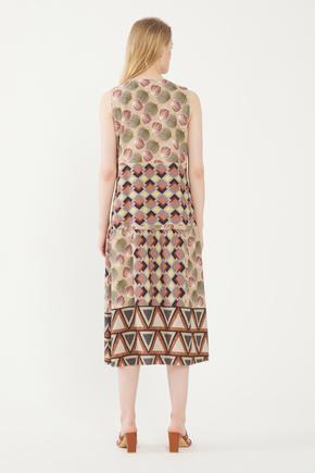 Camel Kolsuz Elbise