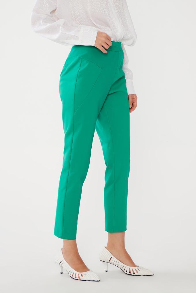 Yeşil Dar Paça Pantolon