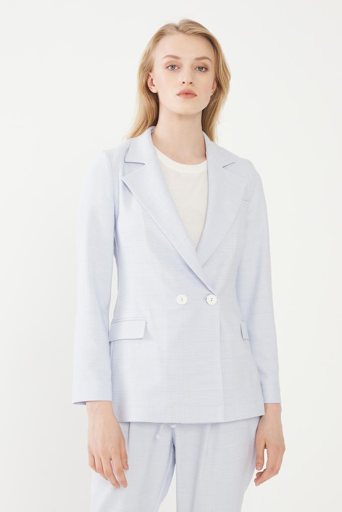 Mavi Kruvaze Ceket
