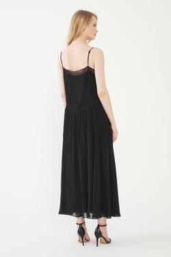 Nervür Detaylı Elbise