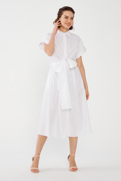 Beyaz Gömlek Elbise