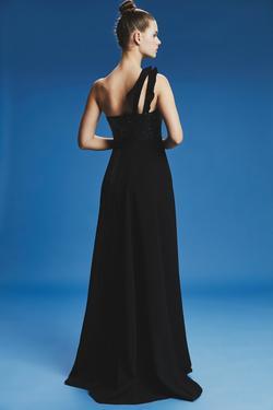 Uzun Saçaklı Elbise