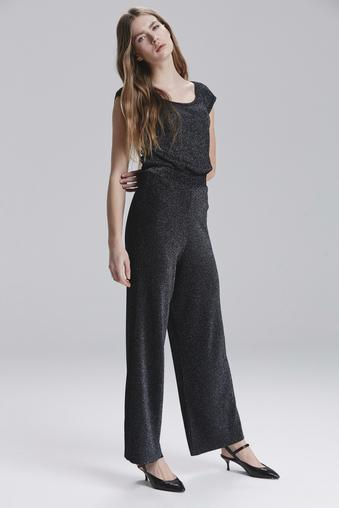 Siyah Simli Pantolon