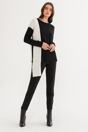 Siyah Uzun Kollu Kazak