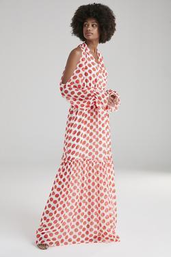 Sırtı Dekolteli Elbise