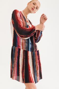 Pliseli Elbise