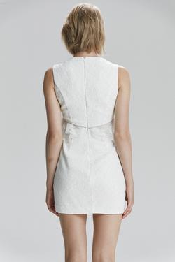 Fırfırlı Dantel Elbise