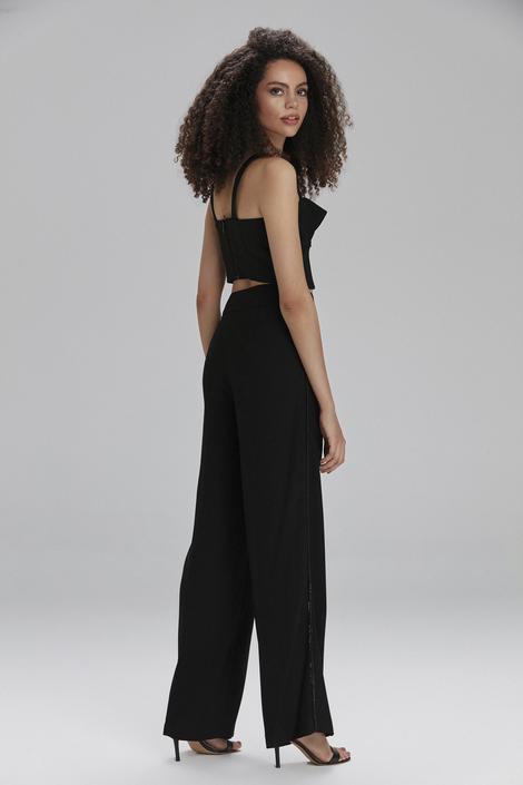 Siyah Yüksek Bel Pantolon