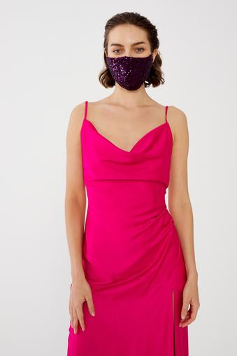 Mor Payet Maske