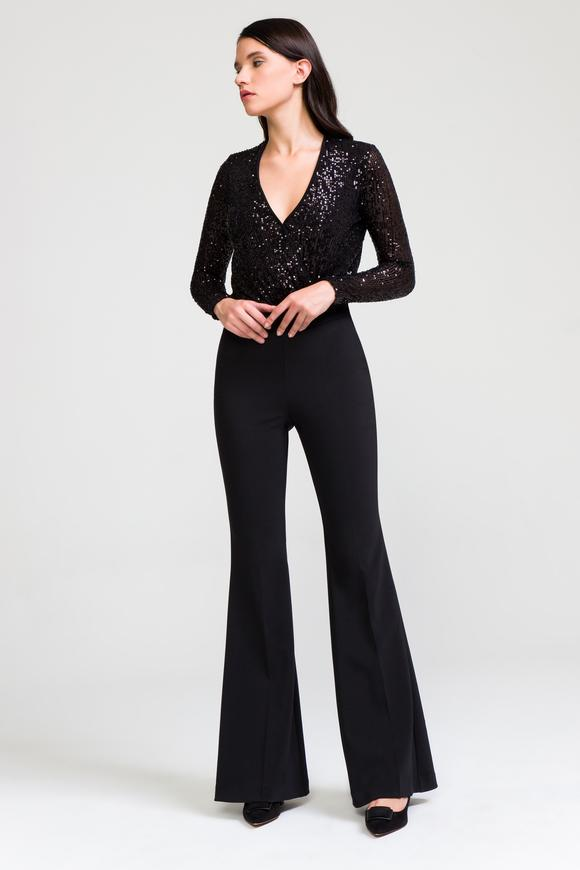 Siyah Uzun Kollu Bluz