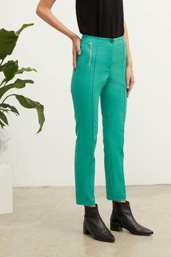 Metal Fermuar Detaylı Pantolon