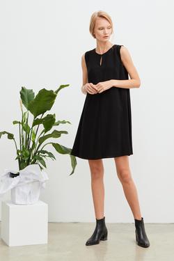 A Kesim Krep Elbise
