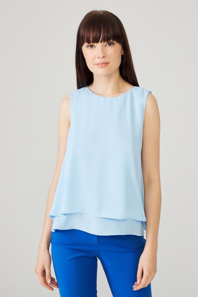 Mavi Kolsuz Bluz