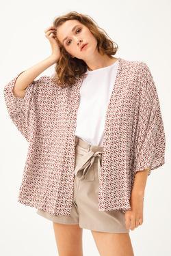 Baskılı Kimono