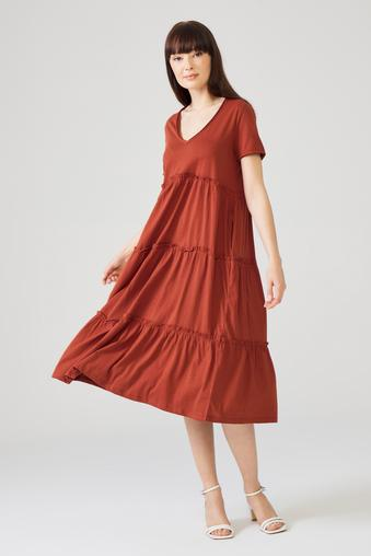 Tarcin V Yaka Elbise