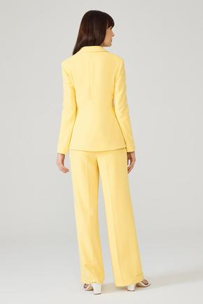 Sarı Duble Paça Pantolon