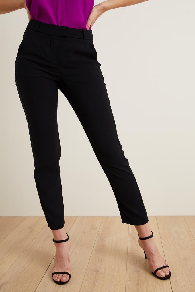 Siyah Bilek Boy Dar Pantolon