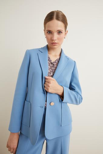 Mavi Cepli Blazer Ceket