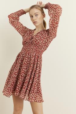 Gipeli Şifon Elbise