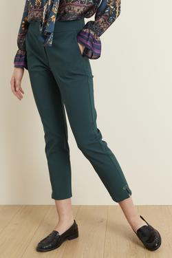 Metal Aksesuarlı Pantolon