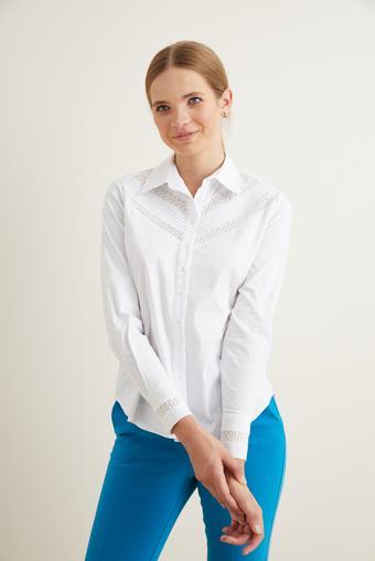 Beyaz Pensli Gömlek