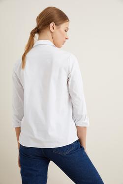 Taş Aksesuarlı Gömlek