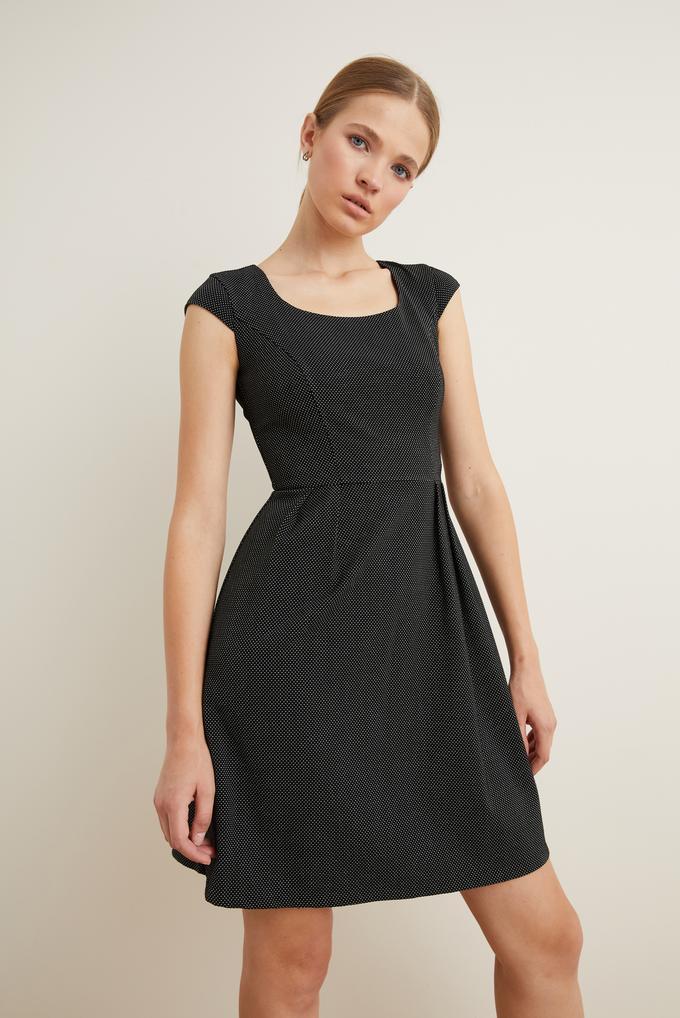 Siyah Kuplu Elbise