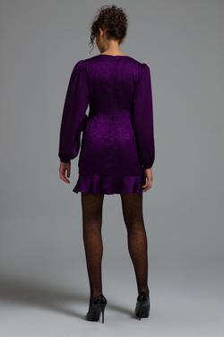 Belden Bağlamalı Elbise