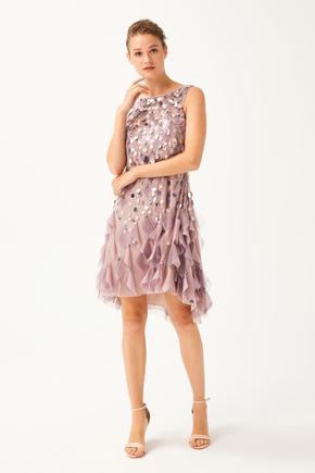 Pembe Kolsuz Elbise