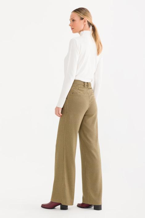 Yeşil Kemerli Pantolon