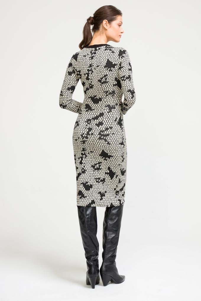 Siyah Drapeli Elbise