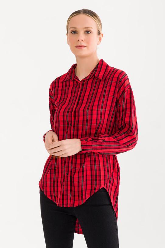 Kırmızı Ekose Gömlek