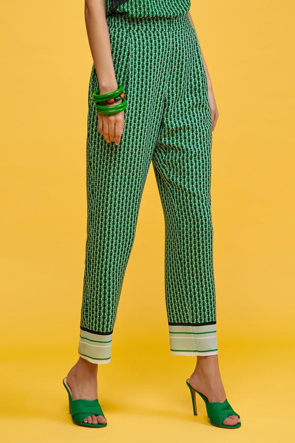 Yeşil Bilek Boy Pantolon