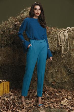 Mavi Bilek Boy Pantolon